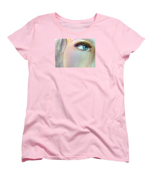 The Eyes Have It Women's T-Shirt (Standard Cut) by Ed  Heaton