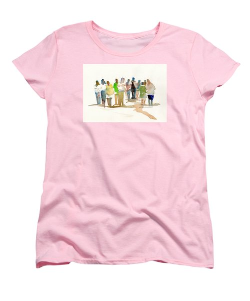 The Gathering Women's T-Shirt (Standard Cut) by P Anthony Visco