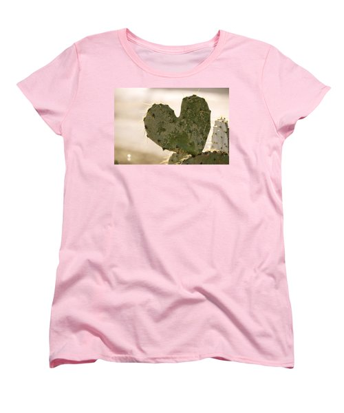 Women's T-Shirt (Standard Cut) featuring the photograph The Heart Of Texas by Debbie Karnes