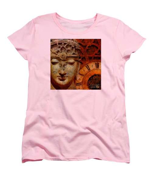 The Illusion Of Time Women's T-Shirt (Standard Cut) by Christopher Beikmann