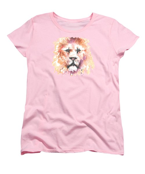 The King T-shirt Women's T-Shirt (Standard Cut) by Herb Strobino