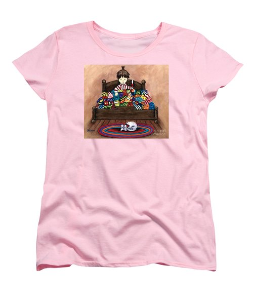 The Land Of Counterpane Women's T-Shirt (Standard Cut)
