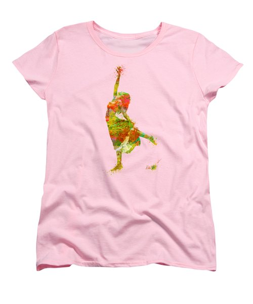 The Music Rushing Through Me Women's T-Shirt (Standard Cut) by Nikki Smith