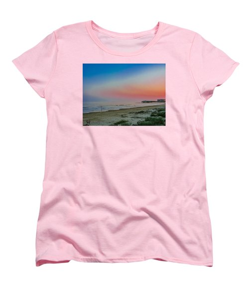Women's T-Shirt (Standard Cut) featuring the photograph The Night Before Rita by Karen Musick