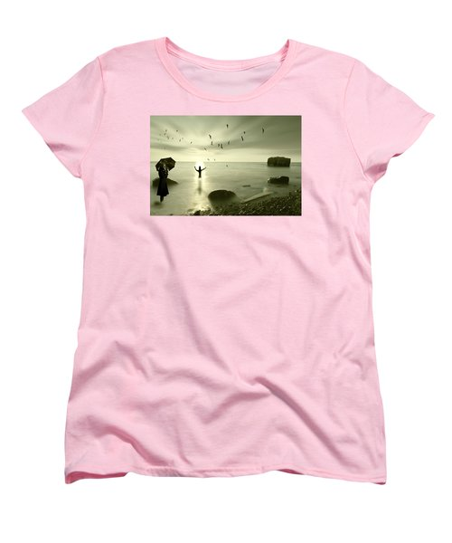 The Northern End Women's T-Shirt (Standard Cut) by Nathan Wright