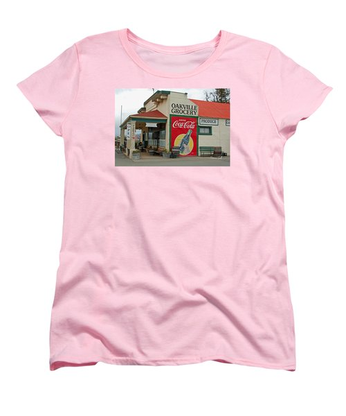 The Oakville Grocery Women's T-Shirt (Standard Cut) by Suzanne Gaff