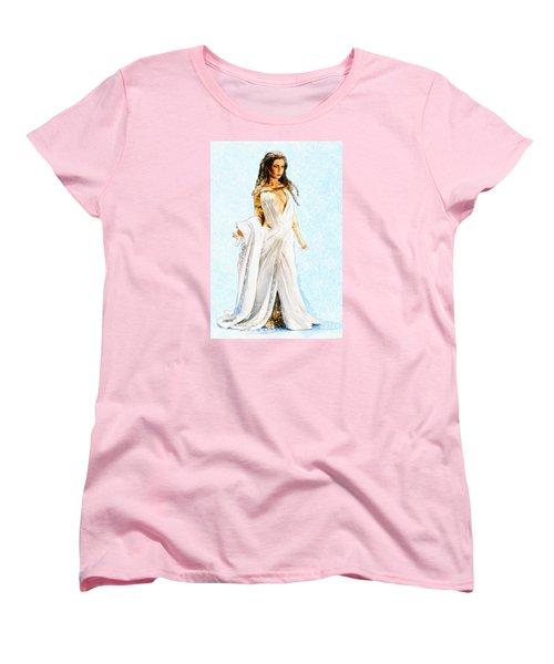 The Queen Women's T-Shirt (Standard Cut) by David Stasiak