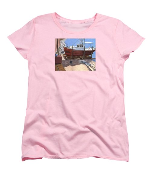 The Red Troller Women's T-Shirt (Standard Cut) by Gary Giacomelli