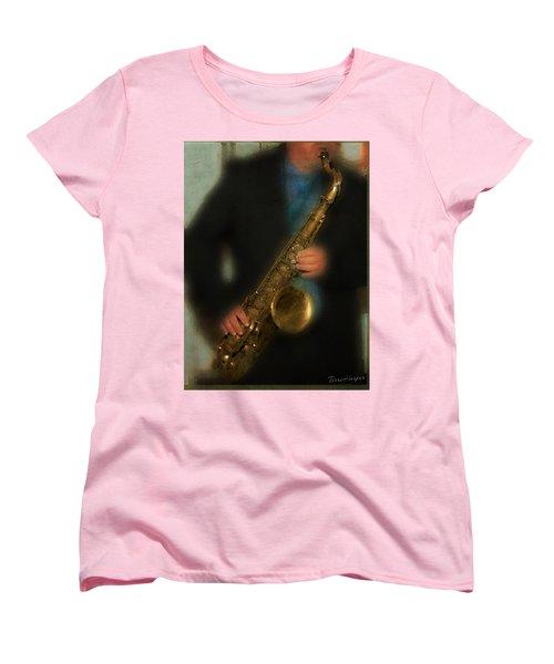 The Sax Player Women's T-Shirt (Standard Cut)