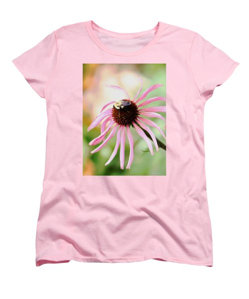 Women's T-Shirt (Standard Cut) featuring the photograph The Sharing Game by Deborah  Crew-Johnson