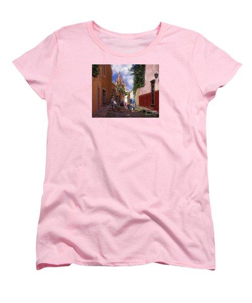 The Street Workers Women's T-Shirt (Standard Cut) by John  Kolenberg