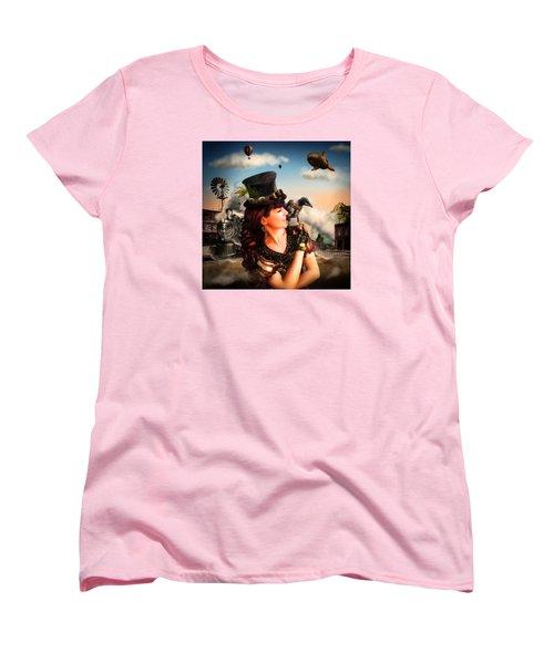 The Traveler Women's T-Shirt (Standard Cut) by Alessandro Della Pietra