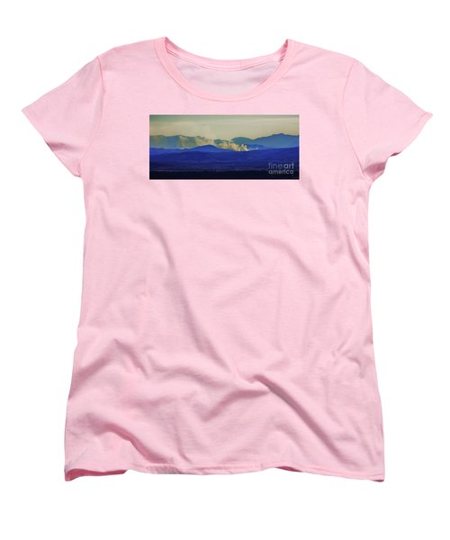The View From The Top Women's T-Shirt (Standard Cut) by Blair Stuart