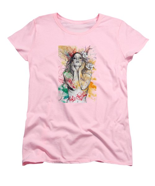 The Withering Spring Women's T-Shirt (Standard Cut) by Marco Paludet