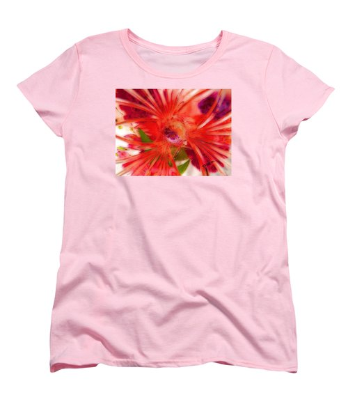 Think Outside The Vase #8801_1 Women's T-Shirt (Standard Cut) by Barbara Tristan