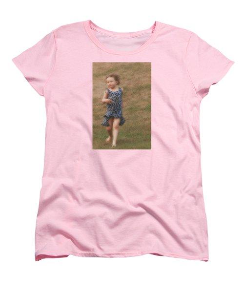 To Be Free Women's T-Shirt (Standard Cut) by The Art Of Marilyn Ridoutt-Greene