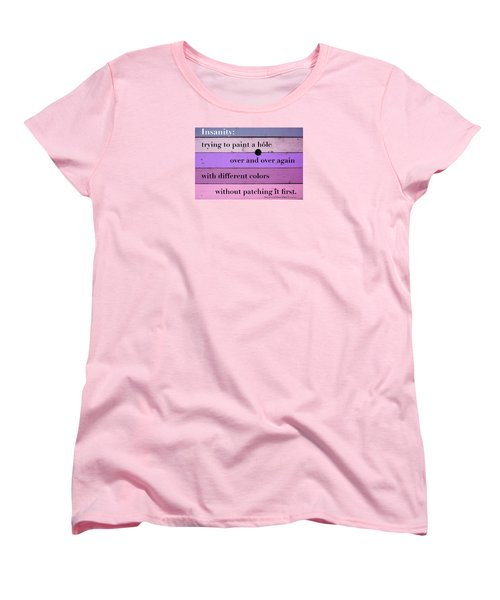 To Change Your Life Change Your Habits Women's T-Shirt (Standard Cut) by Zafer Gurel