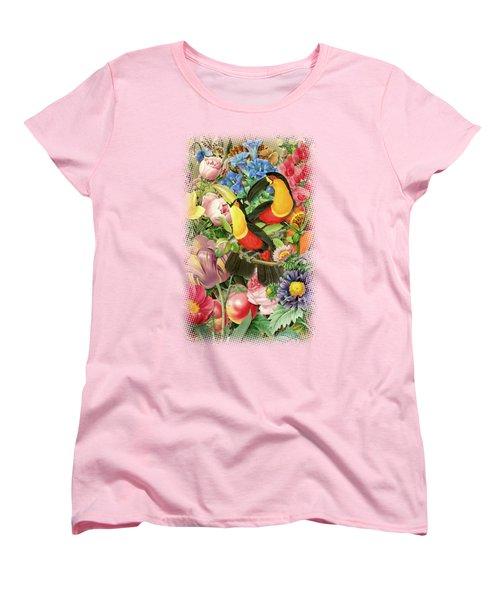 Toucans Women's T-Shirt (Standard Cut) by Gary Grayson