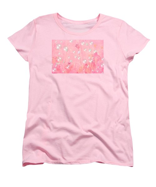 Touch Me In The Morning Women's T-Shirt (Standard Cut) by Sherri's Of Palm Springs