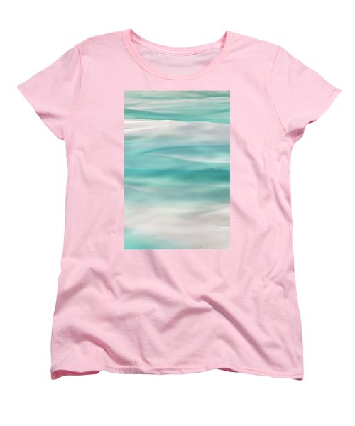 Women's T-Shirt (Standard Cut) featuring the photograph Tranquil Turmoil by Az Jackson