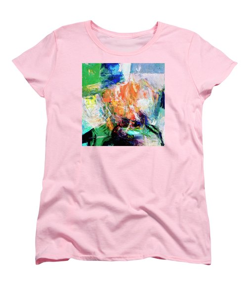 Women's T-Shirt (Standard Cut) featuring the painting Transformer by Dominic Piperata