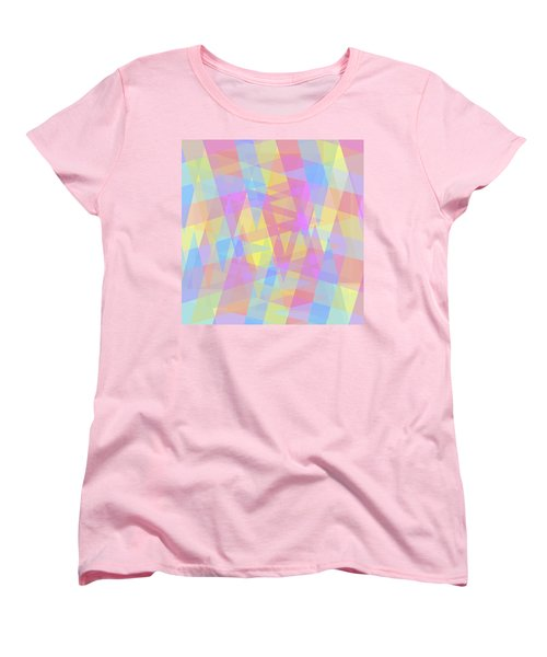 Triangle Jumble 2 Women's T-Shirt (Standard Cut)
