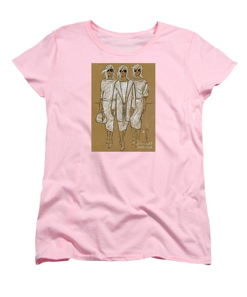 Triplets Women's T-Shirt (Standard Cut) by P J Lewis