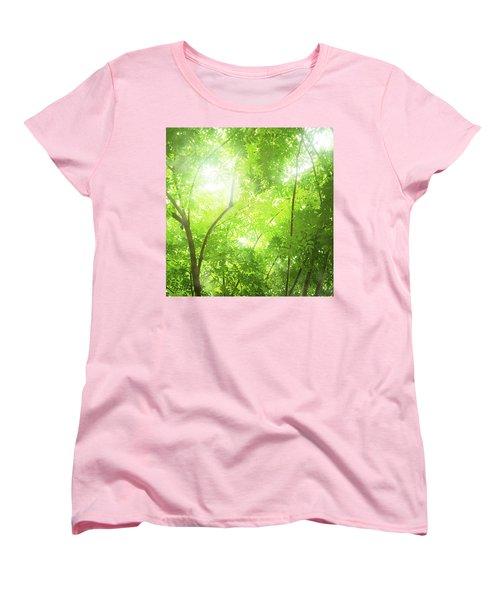 Tropical Forest Women's T-Shirt (Standard Cut) by Atiketta Sangasaeng