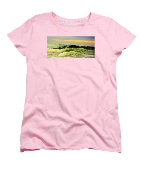 Turbulent Ocean Swell Women's T-Shirt (Standard Cut) by Blair Stuart