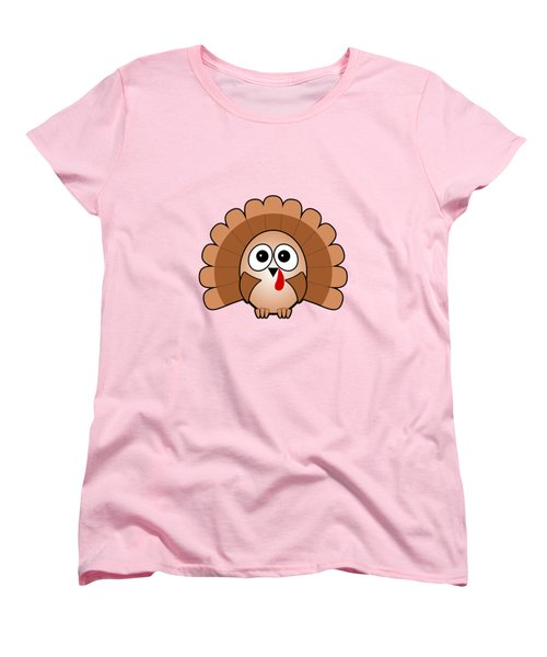 Turkey - Birds - Art For Kids Women's T-Shirt (Standard Cut) by Anastasiya Malakhova