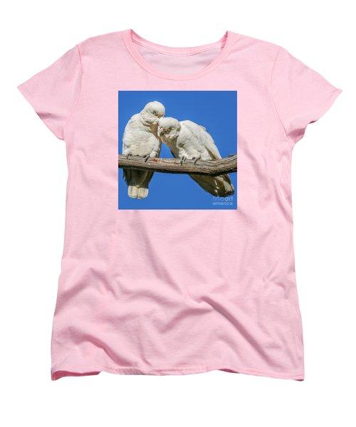 Two Corellas Women's T-Shirt (Standard Cut) by Werner Padarin