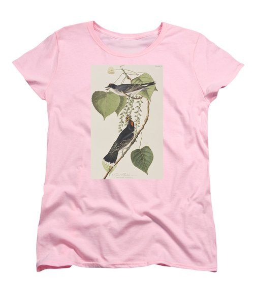 Tyrant Fly Catcher Women's T-Shirt (Standard Cut) by John James Audubon