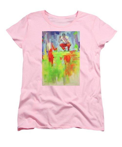 Ueberpruefe Die Luege Des Gruens   Checking The Lie Of The Green Women's T-Shirt (Standard Cut) by Koro Arandia