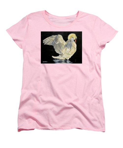 Unfolding Drama Women's T-Shirt (Standard Cut) by Phyllis Beiser