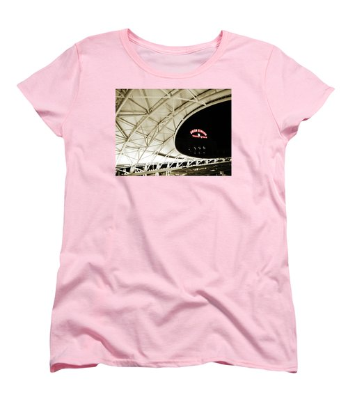 Women's T-Shirt (Standard Cut) featuring the photograph Union Station Denver by Marilyn Hunt