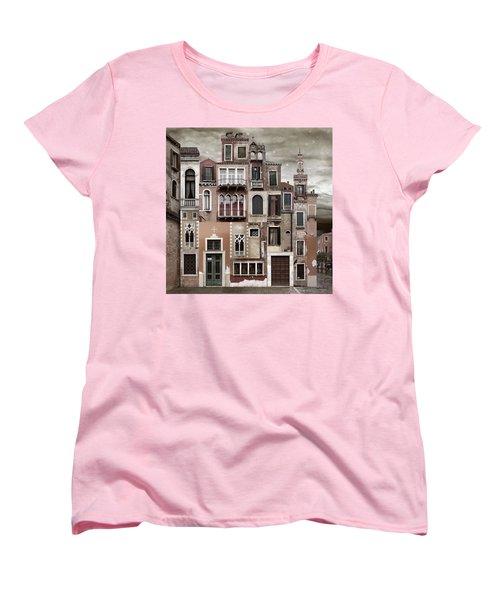 Venice Reconstruction 2 Women's T-Shirt (Standard Cut) by Joan Ladendorf