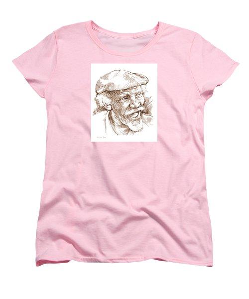 Victor Boa Women's T-Shirt (Standard Cut) by Greg Joens