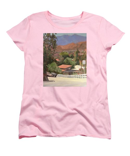 View From Moon Women's T-Shirt (Standard Cut) by Richard Willson
