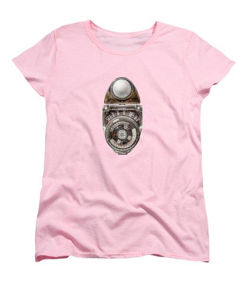 Vintage Sekonic Deluxe Light Meter Women's T-Shirt (Standard Cut)