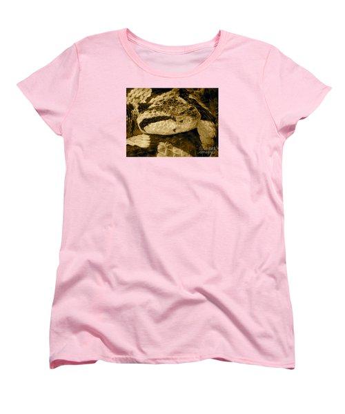 Viper's Glare Women's T-Shirt (Standard Cut) by KD Johnson