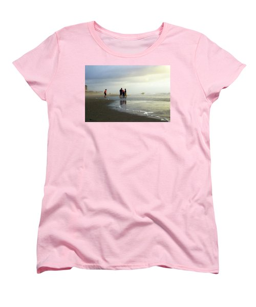 Women's T-Shirt (Standard Cut) featuring the photograph Waiting For The Sun by Phil Mancuso