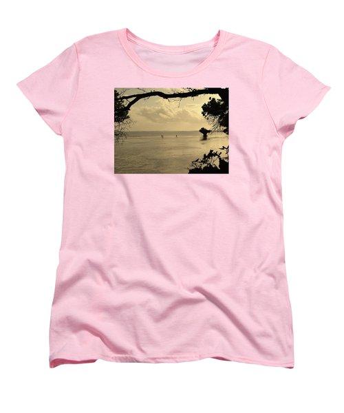 Walking On Water Women's T-Shirt (Standard Fit)