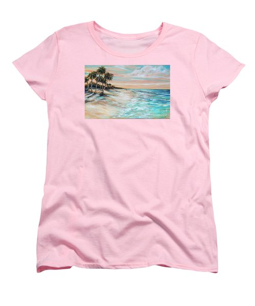 Walking The Dog II Women's T-Shirt (Standard Cut)