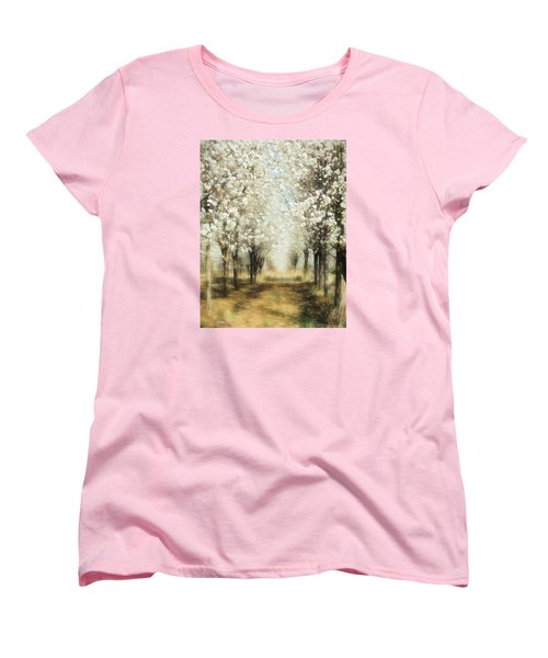 Walking Through A Dream Ap Women's T-Shirt (Standard Cut) by Dan Carmichael