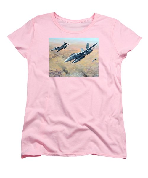 War On Terror Women's T-Shirt (Standard Cut) by Colin Parker