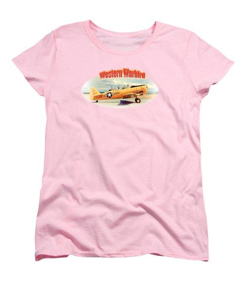 Warbird Touchdown Women's T-Shirt (Standard Cut) by Richard Farrington