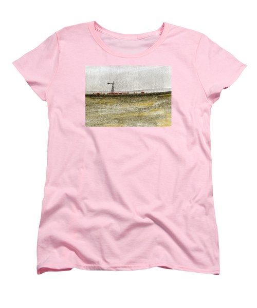 Water, Ranching, And Cattle Women's T-Shirt (Standard Cut) by R Kyllo