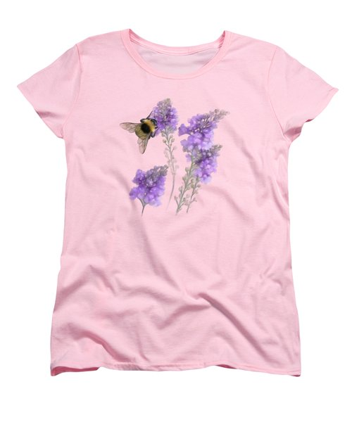 Watercolor Bumble Bee Women's T-Shirt (Standard Cut) by Ivana Westin