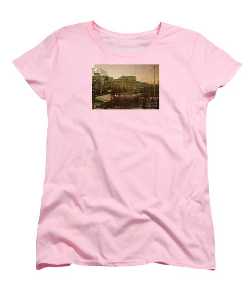 Women's T-Shirt (Standard Cut) featuring the digital art Watershed by David Blank