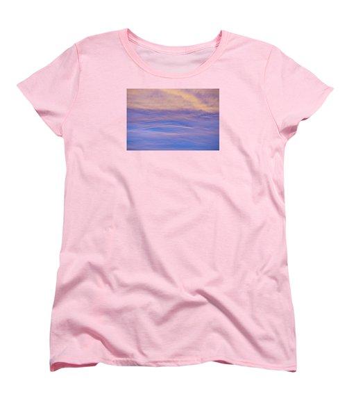 Waves Of Color Women's T-Shirt (Standard Cut)